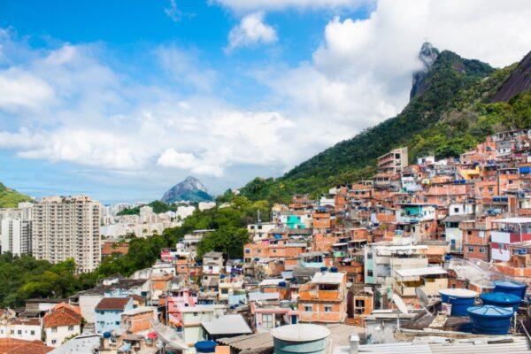 favelas au Brésil