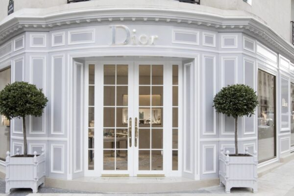 événement d'entreprise au restaurant Dior